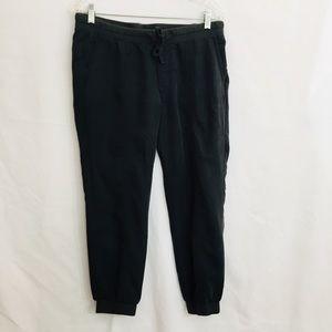 GAP Ribbed Ankle Drawstring Pants M